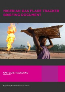 Click on the image to download a copy of the Gas Flare Tracker briefing document