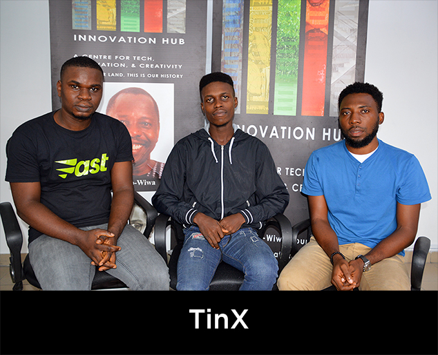 TinX start up. Click for more info