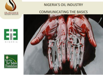 Understanding Nigeria's oil industry through infographics