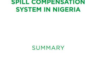 Towards a new compensation process for oil spills in Nigeria