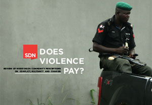 Does Violence Pay? Community perceptions of violence