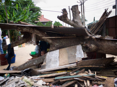 WATERFRONT DEMOLITIONS IN RIVERS STATE