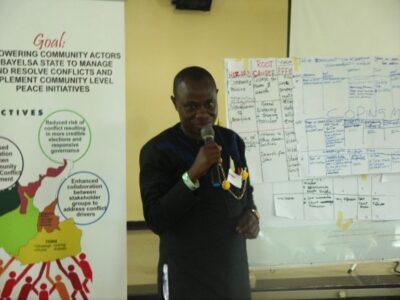 Early Warning and Early Response Training for Community Members and Security Agencies in Bayelsa State
