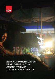 BEDC Customer Survey: Developing Mutual Accountability to Tackle Electricity