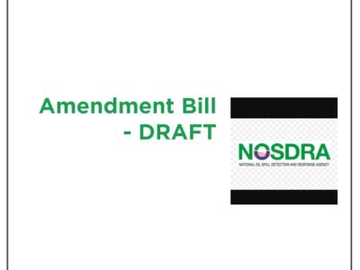 Policy analysis: NOSDRA Amendment Draft Bill