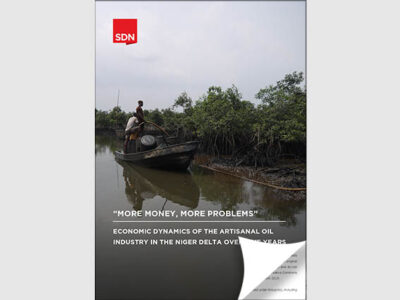 Press Release: New report on artisanal oil refining in the Niger Delta