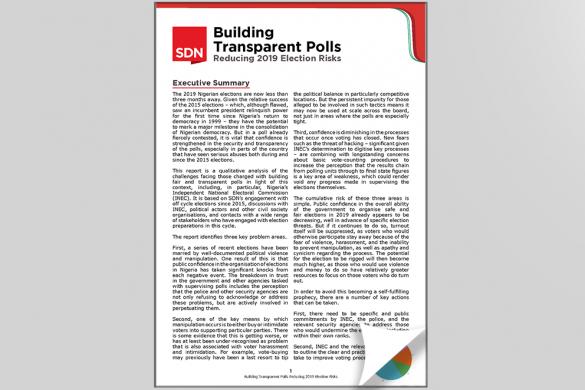 Building Transparent Polls