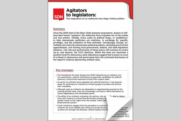 Agitators to legislators