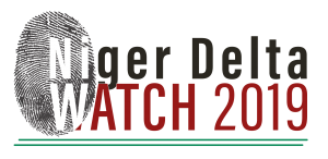 Project label for Niger Delta Watch 2019