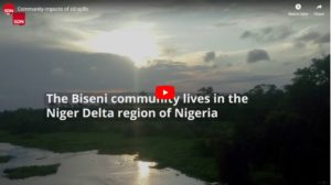 SDN visits oil-impacted Biseni community