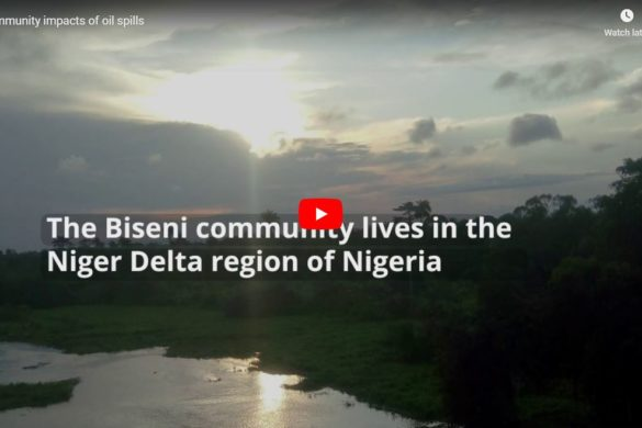 SDN visits oil-impacted Biseni community