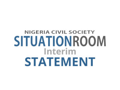 Conduct of the 2019 Governorship, State Assembly and FCT Area Council Elections
