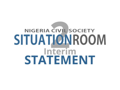 Observation of the Governorship, State Houses of Assembly and FCT Area Council Elections