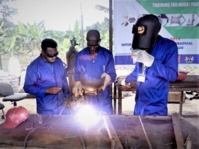 Innovating livelihood options for the planned restoration of Ogoniland