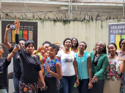 Piloting digital livelihoods with the Ken Saro-Wiwa Foundation Innovation Hub