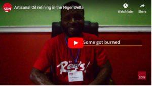 Artisanal Oil refining in the Niger Delta