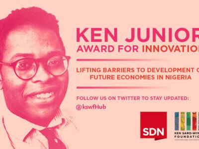 Ken Jr. Award for innovation