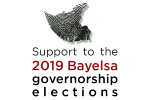 Project label for Bayelsa Governorship elections 2019