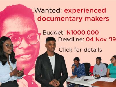 Open call to documentary makers (Port Harcourt)