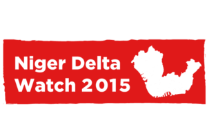 Project label for Niger Delta Watch 2015