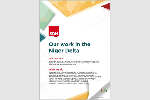 Our work in the Niger Delta