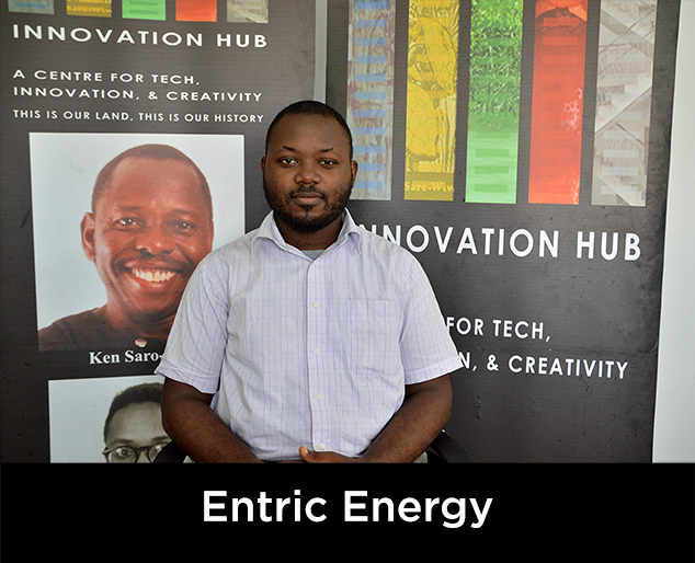 Entric Energy start up. Click for more info