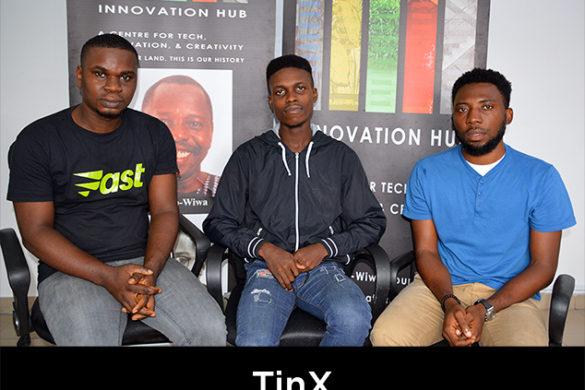 Three members of TinX