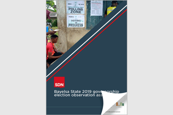 Bayelsa State 2019 governorship election observation assessment