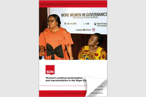 Women speaking at a women in governance event