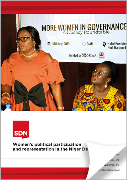 More women in Governance report