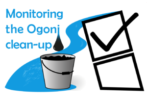 Ogoni cleanup project label