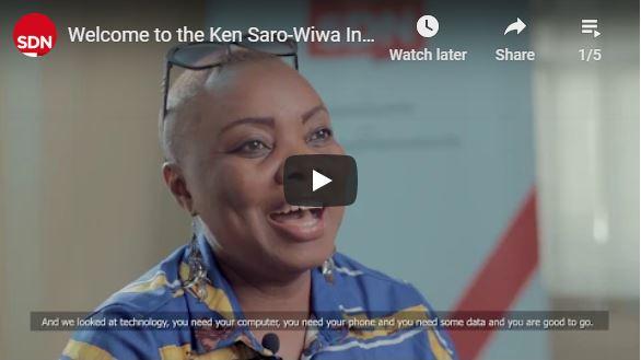Ken Saro-Wiwa Innovation Hub video series