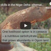 Welding - alternative livelihoods in the Niger Delta