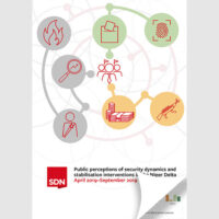 Report 5: Public perceptions of security dynamics & stabilisation interventions in the Niger Delta