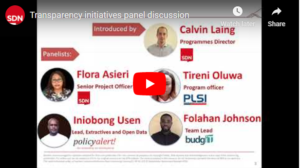 Panel discussion: How can communities use transparency initiatives to boost accountability?