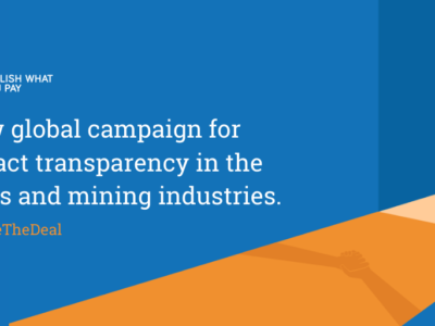 The time has come for all oil, gas and mining contracts to be published.