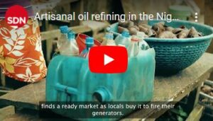Artisanal oil refining in the Niger Delta - networked economies (2020)